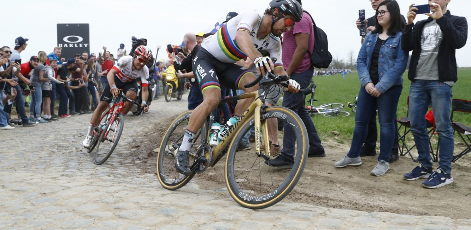 Parigi Roubaix 2018 - 116th Edition - Compiegne - Roubaix 257 km - 08/04/2018 - Peter Sagan (SVK - Bora - Hansgrohe) - photo Luca Bettini/BettiniPhoto©2018